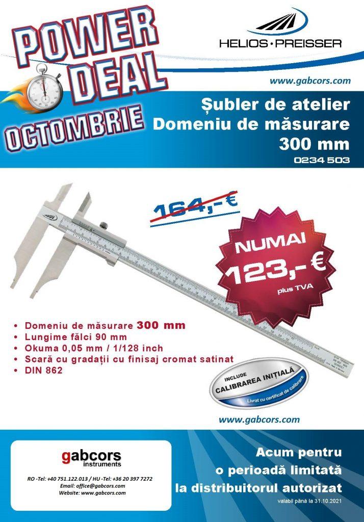 SUBLER MECANIC 300mm 102021_POWER_DEAL_Oktober_RO_inter GABCORS